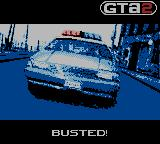 Grand Theft Auto 2 Game Boy Color Busted