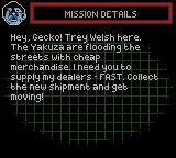 Grand Theft Auto 2 Game Boy Color Picking up a phone to get the mission details