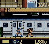 X-Men: Wolverine's Rage Game Boy Color A fight in the subway
