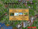 Transport Tycoon Deluxe DOS Main Menu