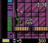 X-Men: Wolverine's Rage Game Boy Color Fighting a samurai