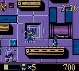 X-Men: Wolverine's Rage Game Boy Color Ready to fight a robot