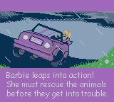 Barbie Pet Rescue CD ROM Game Boy Color Intro 3