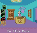 Barbie Pet Rescue CD ROM Game Boy Color The Office Room where you can call to see if any animals are in danger