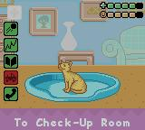 Barbie Pet Rescue CD ROM Game Boy Color The Play Room where you can see the animals you have and check their condition