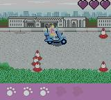Barbie Pet Rescue CD ROM Game Boy Color Riding a vespa