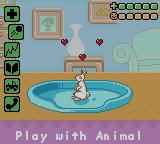 Barbie: Pet Rescue Game Boy Color A bunny on top condition