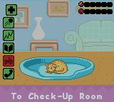 Barbie Pet Rescue CD ROM Game Boy Color The cat's health on a critical state - if don't do something it will leave