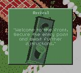 Army Men II Game Boy Color Mission Objective
