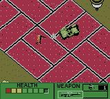 Army Men II Game Boy Color Using a vehicle to make things easier