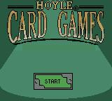 Hoyle Card Games Game Boy Color Title screen