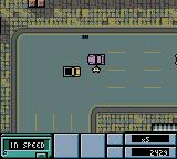 Grand Theft Auto Game Boy Color Stealing a car
