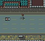 Grand Theft Auto Game Boy Color A police car pursuing you