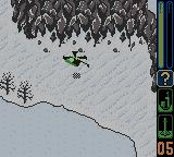 Army Men: Sarge's Heroes 2 Game Boy Color Second mission to retrieve a data recorder using a helicopter
