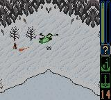 Army Men: Sarge's Heroes 2 Game Boy Color Shooting a foot soldier