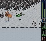 Army Men: Sarge's Heroes 2 Game Boy Color Firing missiles on the outpost