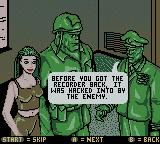 Army Men: Sarge's Heroes 2 Game Boy Color Got the recorder back but not all went well