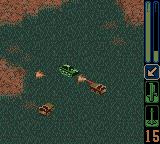 Army Men: Sarge's Heroes 2 Game Boy Color Third mission is to defend the Green HQ