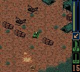 Army Men: Sarge's Heroes 2 Game Boy Color Blasting another enemy