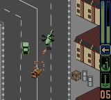Army Men: Sarge's Heroes 2 Game Boy Color Escorting Colonel Grimm to a house in Plasticville...