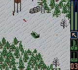 Army Men: Sarge's Heroes 2 Game Boy Color Another mission in the snow