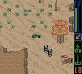 Army Men: Sarge's Heroes 2 Game Boy Color Now that's a huge explosion