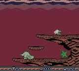The Land Before Time Game Boy Color To finish each stage you must collect the number of green stars that is shown