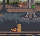 The Land Before Time Game Boy Color Pushing a rock
