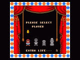 Super Mario All-Stars SNES Player select - you could actually play with four different figures, which really played different.