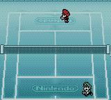 Mario Tennis Game Boy Color Players going to their positions