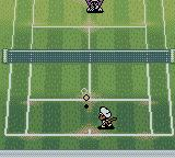 Mario Tennis Game Boy Color Charging for a more powerful and fast shot