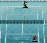 Mario Tennis Game Boy Color Throwing the ball