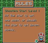 Mario Tennis Game Boy Color Instructions on how to play a mini-game