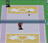 Mario Tennis Game Boy Color A game in the Castle Court