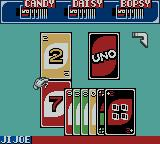 Uno Game Boy Color Turning the cards on your deck