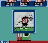 Uno Game Boy Color An animation sequence