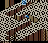 Marble Madness Game Boy Color Intermediate Level