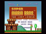 Super Mario All-Stars SNES Finally, the Lost Levels game. It's like Mario 1, but MUCH harder.