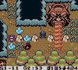 Bomberman Max: Red Challenger Game Boy Color Setting a bomb to destroy the crystal and open up a path