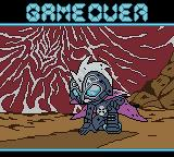 Bomberman Max: Red Challenger Game Boy Color Game over