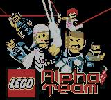 LEGO Alpha Team Game Boy Color Title screen