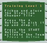 LEGO Alpha Team Game Boy Color Training tutorial