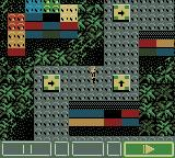 LEGO Alpha Team Game Boy Color ...then pressing start to make Dash follow the route made...