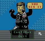 LEGO Alpha Team Game Boy Color Successfully completing a mission