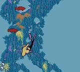 Barbie: Ocean Discovery Game Boy Color By following the bubbles you can go to a different area