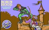 Robin Hood: Legend Quest Commodore 64 Loading screen