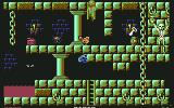 Robin Hood: Legend Quest Commodore 64 Level 2. Now THIS level is hard!