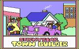 Stickybear Town Builder Commodore 64 Title screen