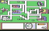 Stickybear Town Builder Commodore 64 I found a key.