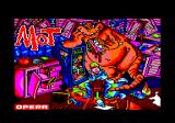MOT Amstrad CPC Loading screen